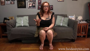 POV Spanking From Stepmom Heidee